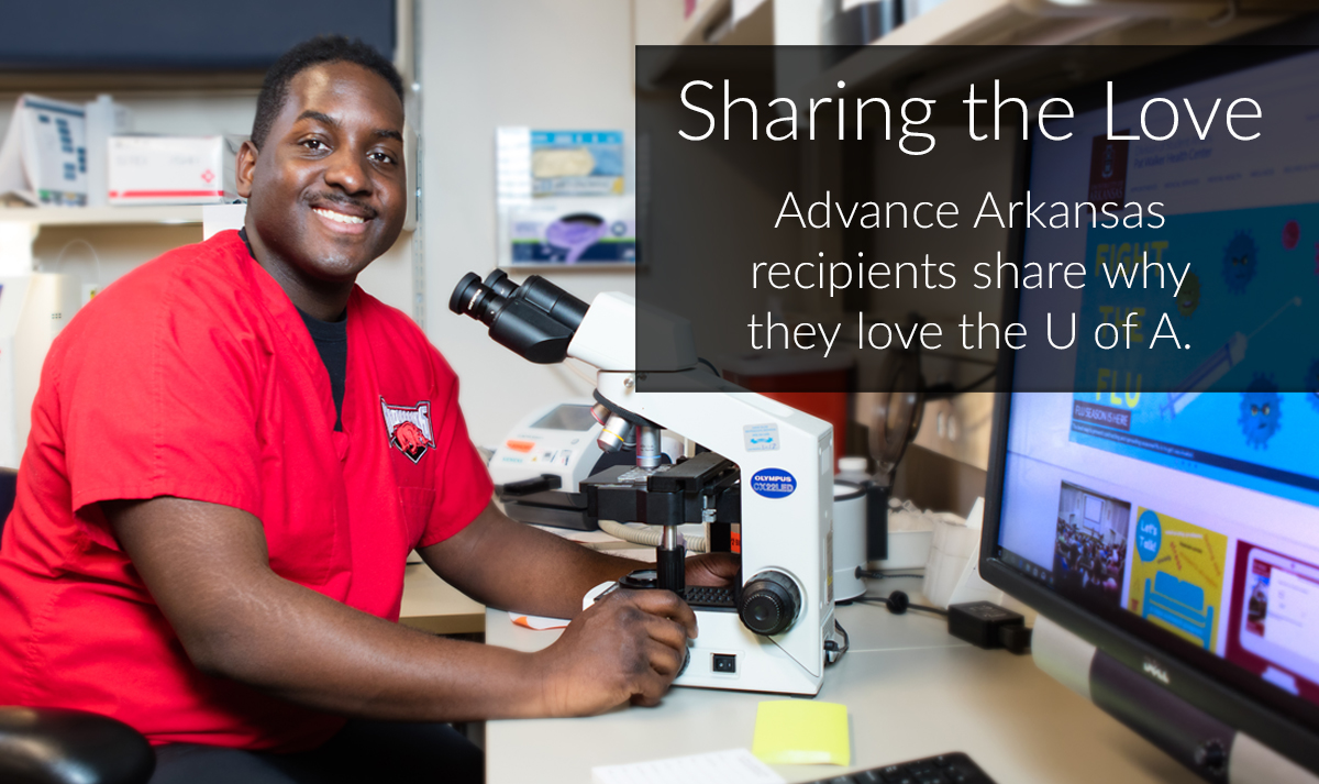 Advance Arkansas recipients share why they love the U of A