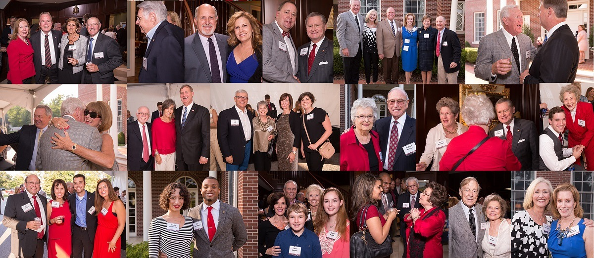 Members and guests at the 2014 Chancellor's Society event
